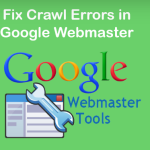 Fix Crawl Errors in Google Webmaster